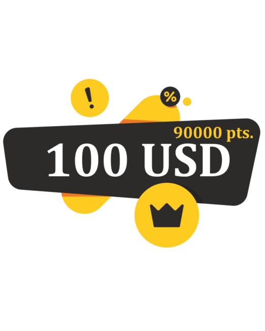 100 usd